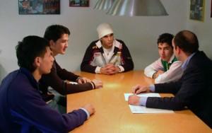 Beratungsgespräche für Jugendliche bei Fit in den Job.